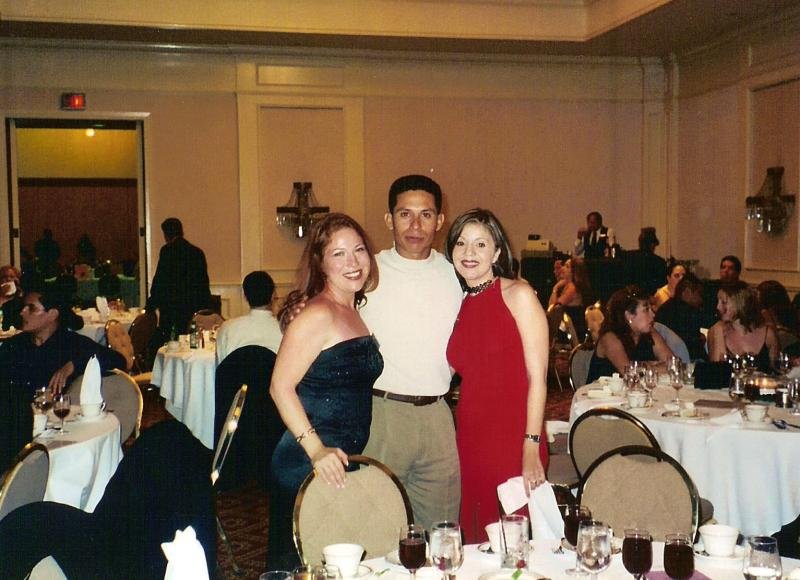Sonia, Robert Rosas and Irene P.