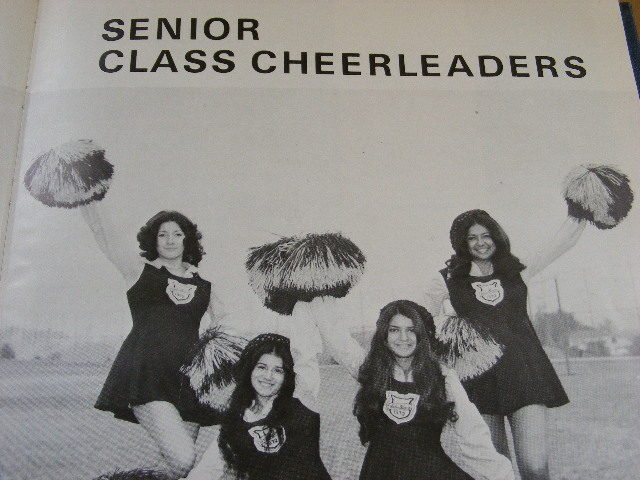 Sr. Class Cheer Leaders